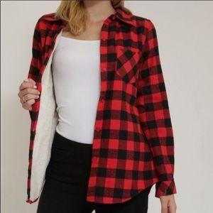 Tops - Fleece Flannel